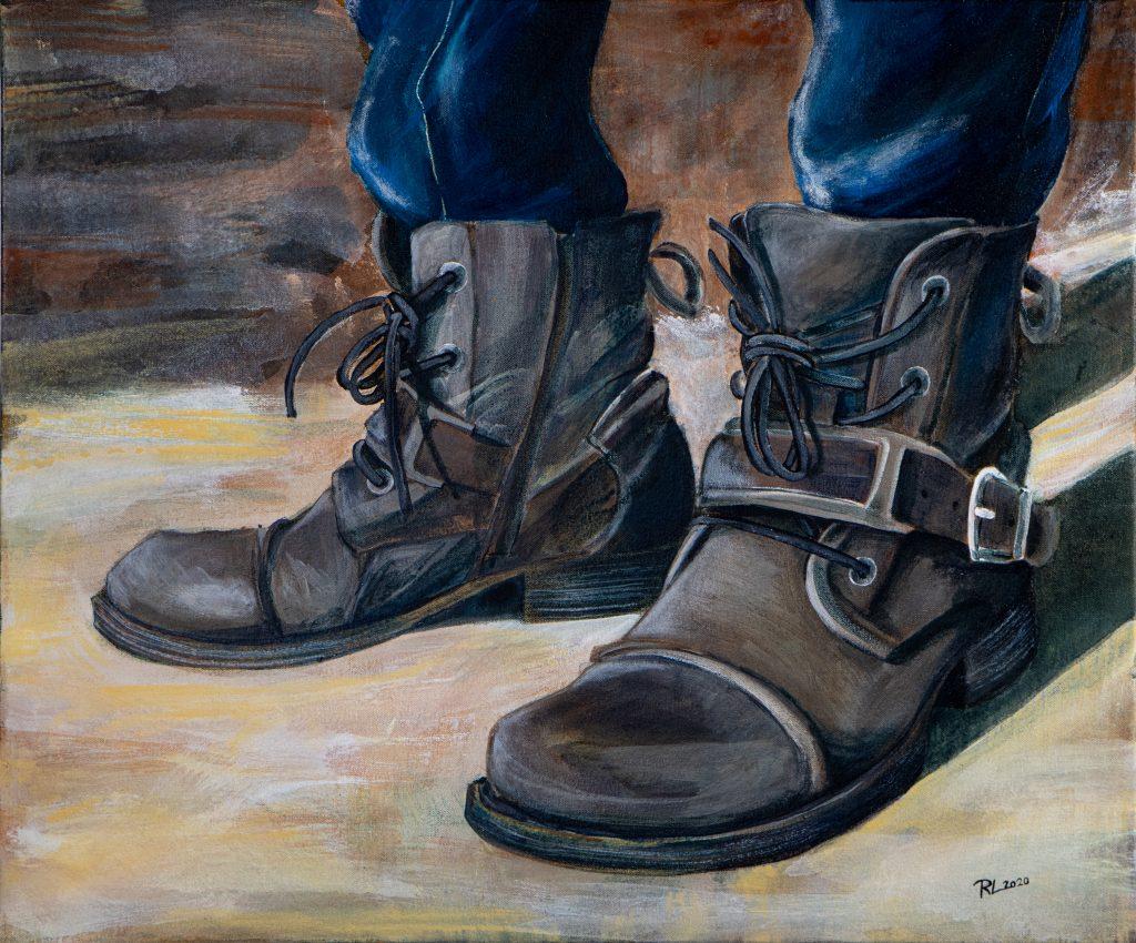 Kunhan on hyvät kengät